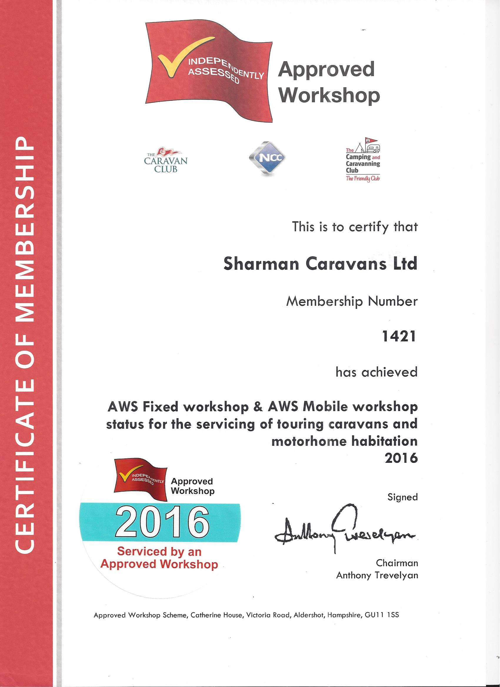 AWS approved Mobile and Fixed Workshop