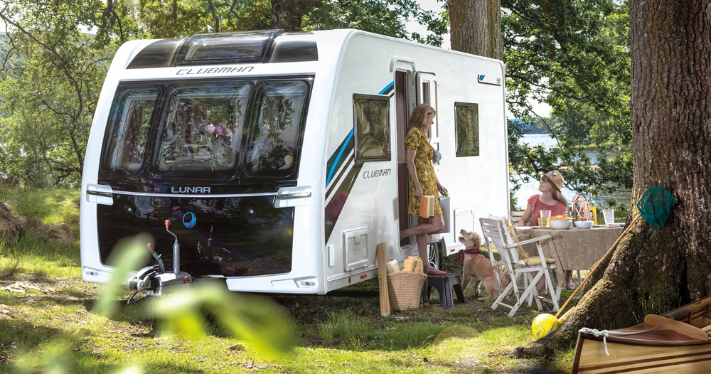Pre – NEC Show Deal offered on all New Lunar Caravans sold!