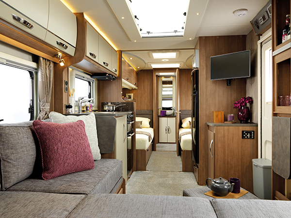 Alaria caravans a new premium caravan range coming to for Interior caravan designs