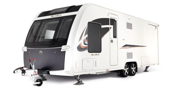 Alaria – a New Premium Caravan Collection – The Alaria TS and Alaria Ti can be viewed at Sharman Caravans now!