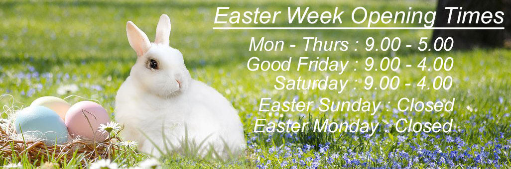 Easter Week Opening Hours