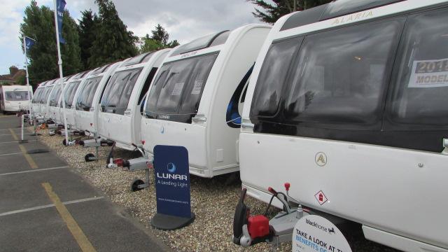Lunar caravans