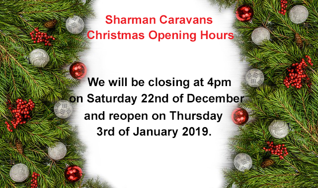 Christmas 2018 Opening Times