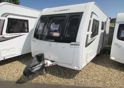 **SOLD** Lunar Clubman ES 2014 – £13,495 – End Washroom – 4 berth
