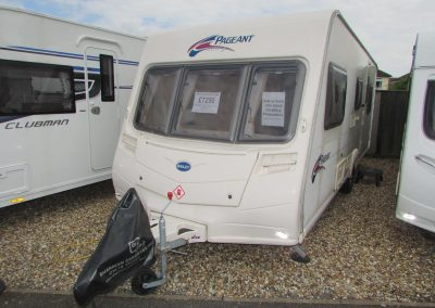 **SOLD** Bailey Pageant Provence S6 2008 – £7,250 – 5 berth Double Dinette