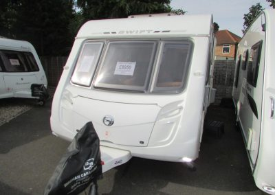 Swift Challenger 570 2009 – £8,950 4 Berth, Fixed Bed