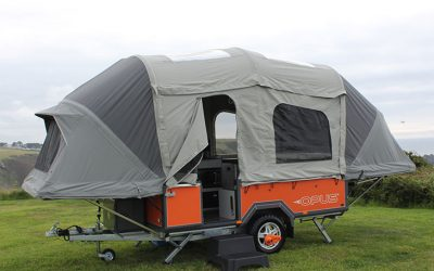 OPUS is a stylish and innovative folding camper.